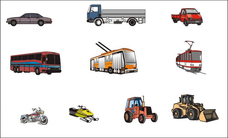 Механические транспортные средства