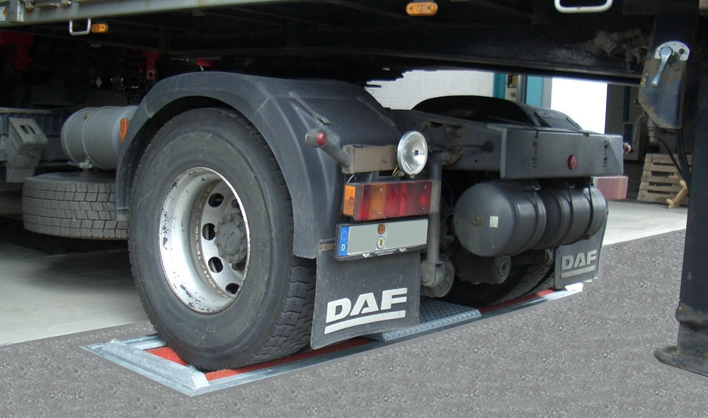 Нагрузка на ось грузового автомобиля