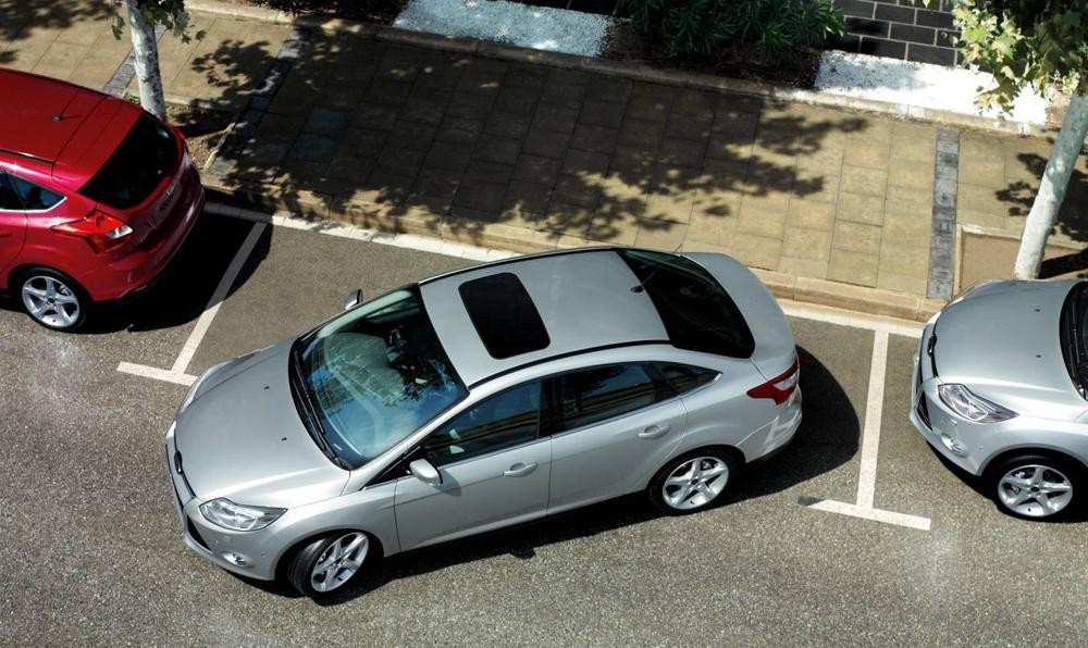 Ошибка при парковке автомобиля