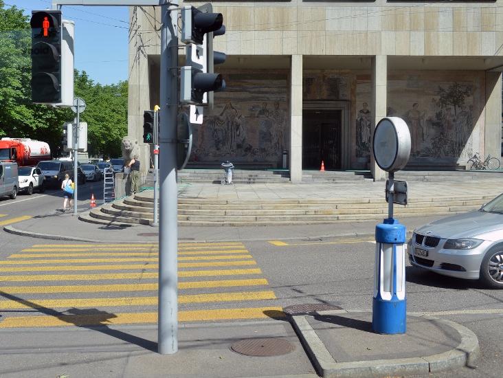 Островки безопасности для пешеходных переходов