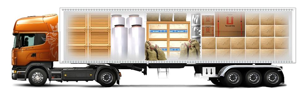 Перевозка грузов в автопоезде