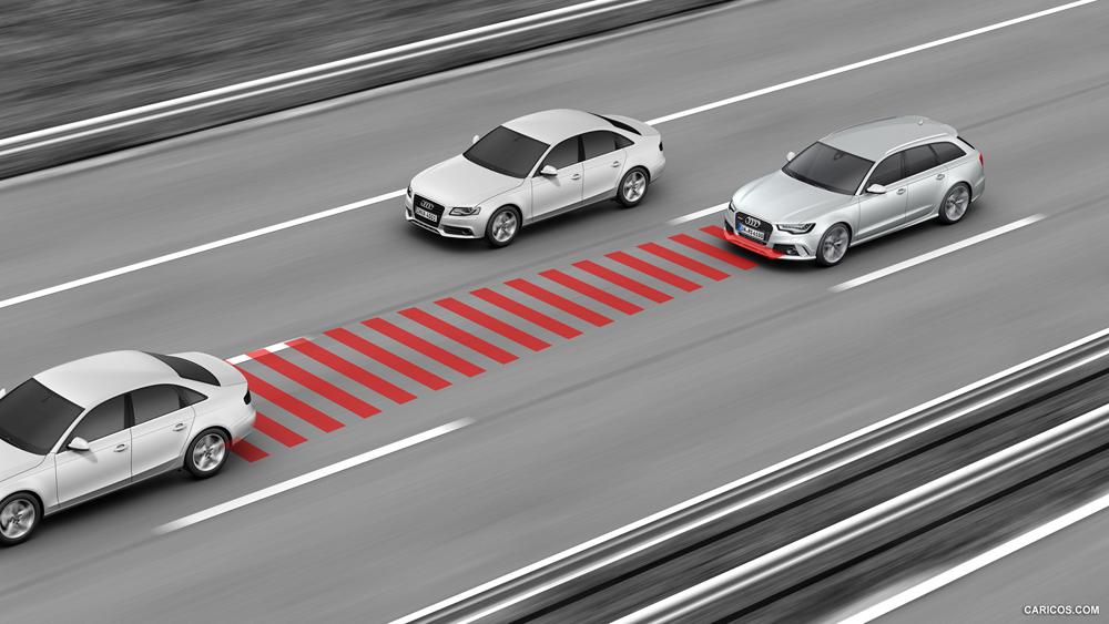 Система контроля дистанции автомобиля
