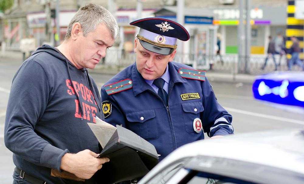 Езда без прав на незарегистрированном авто