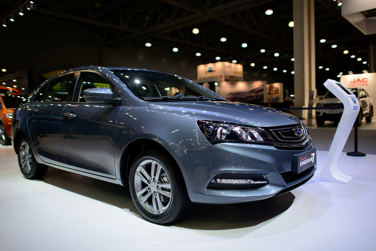 2018 Geely Emgrand 7