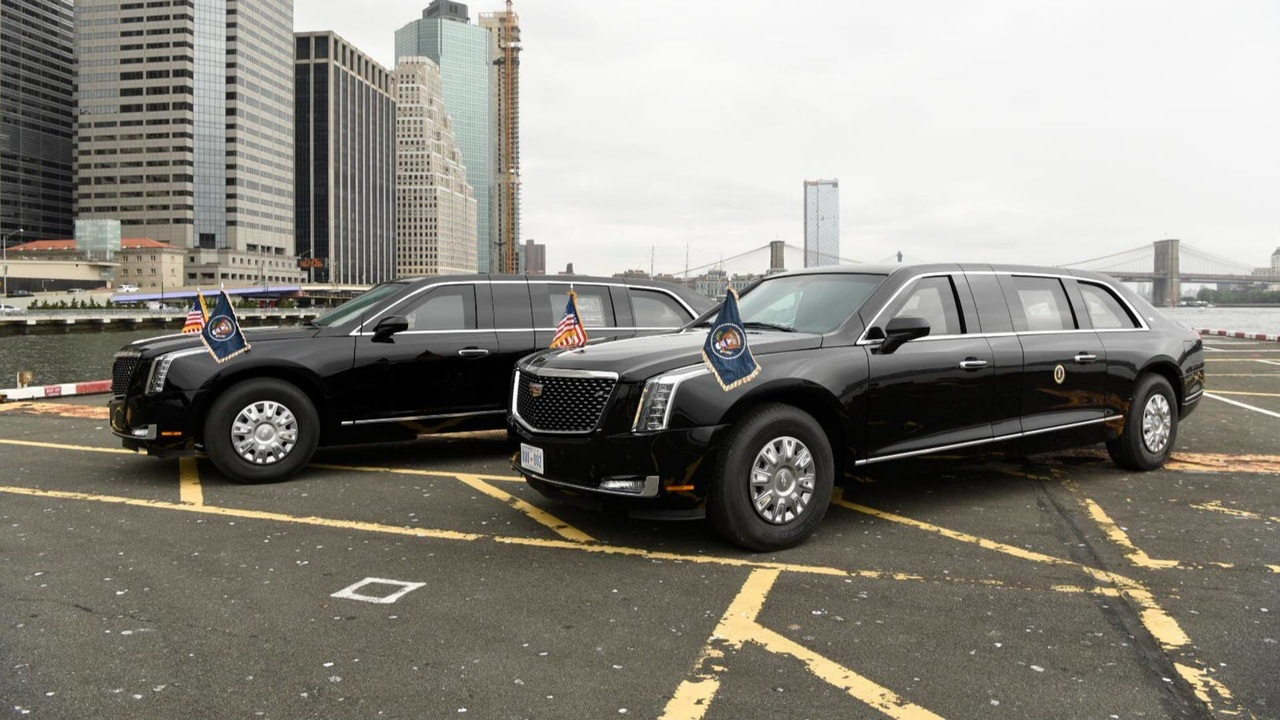 Лимузин президента США 2018
